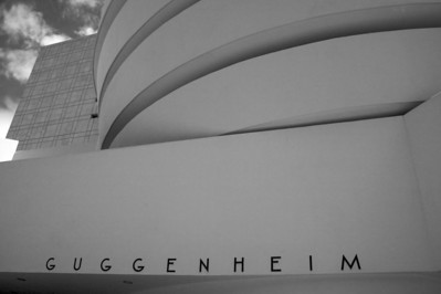 Guggenheim Museum- it was closed!  At least I got the picture.