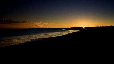 Crane Beach Sunrise Ipswich Massachusetts