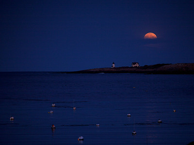 Rockport Moonrise