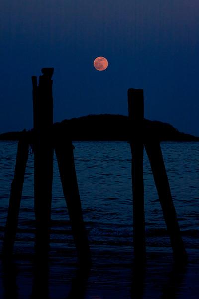 Moonrise West Beach Beverly Massachusetts