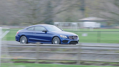 2017 Mercedes-Benz C300 4Matic Coupe Driving Reel