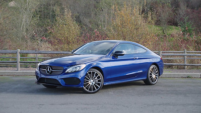 2017 Mercedes-Benz C300 4Matic Coupe Parked Reel