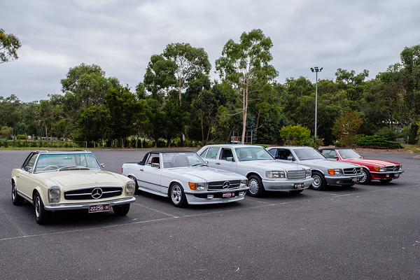 AOMC RACV 2018 Classic Showcase, for British and European vehicles, Yarra Glen Racecourse,  Sunday 25 February.