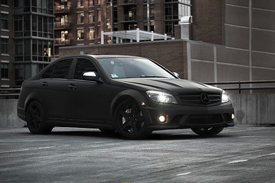 Mercedes, Matte Black, NYC