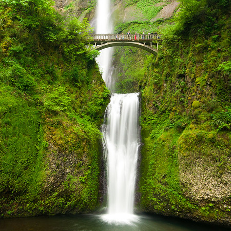 Coaster - Multnomah Falls Close Up