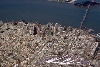 San Francisco arial view