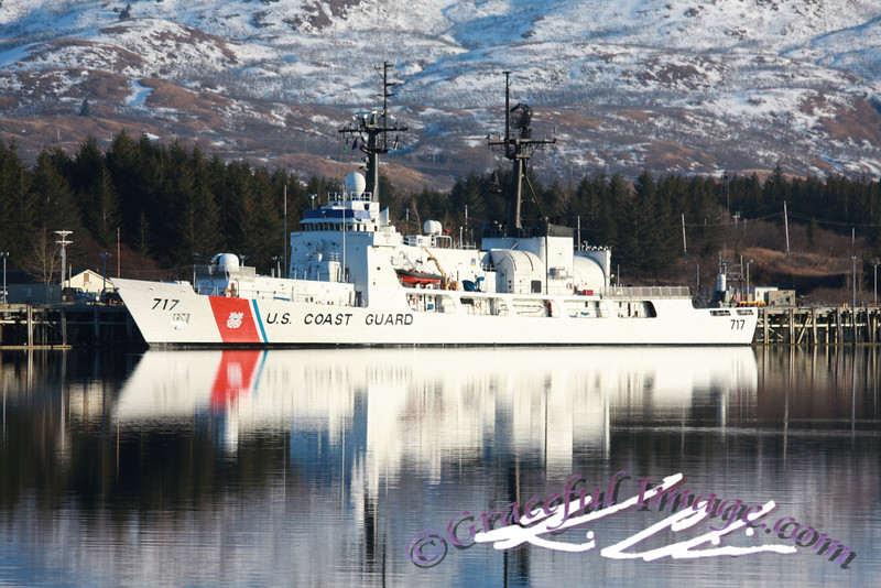 USCGC MELLON (WHEC-717) in Kodiak, AK