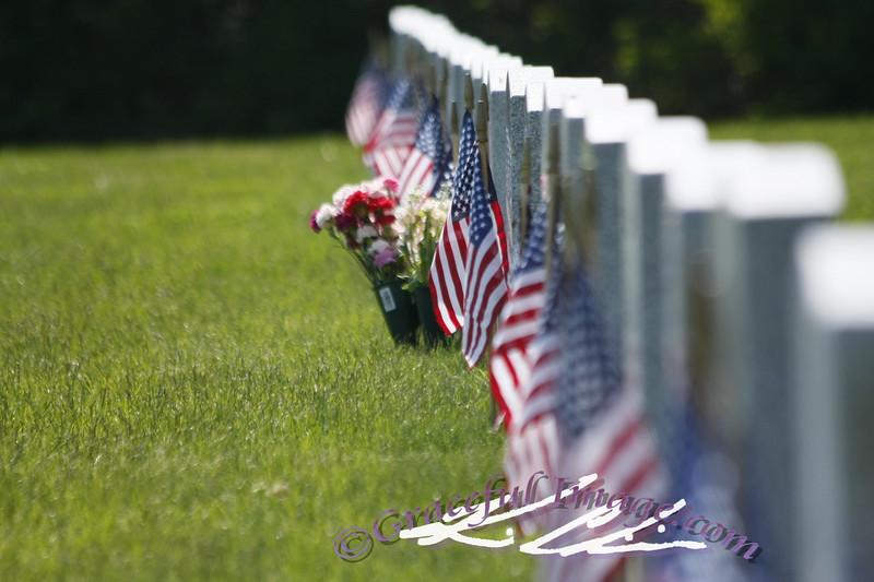 Memorial day at Tahoma National Cemetary, WA