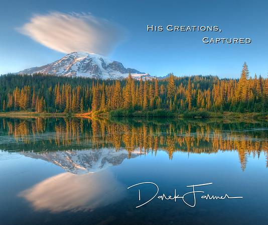 Mouse Pad-Mt. Rainier Reflection-HCC