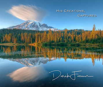 Mouse Pad-Mt. Rainier Reflection-HCC