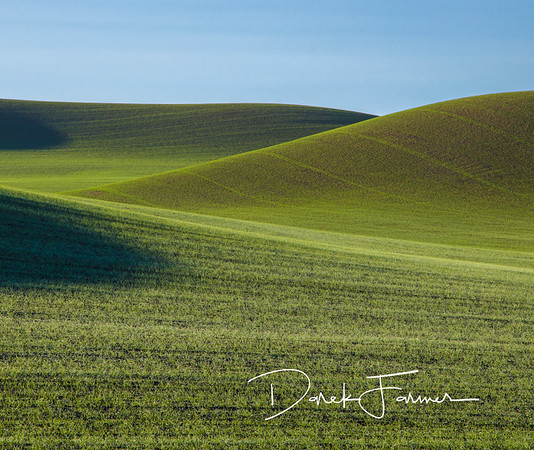 Mouse Pad-Palouse Green Hills