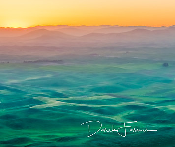 Mouse Pad-Steptoe Butte Sunrise