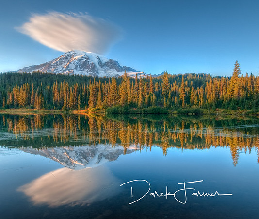 Mouse Pad-Mt. Rainier Reflection
