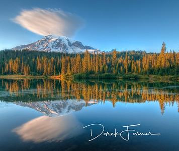 Mouse Pad-Mt. Rainier Reflection