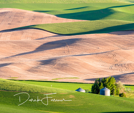 Mouse Pad-Steptoe Butte Grain Silos 2