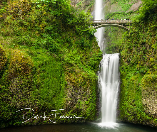 Mouse Pad-Multnomah Falls Close Up