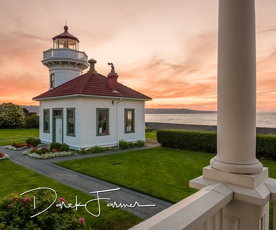 Mouse Pad-Mukilteo Lighthouse at Sunset