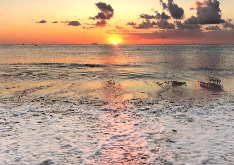 Mamitas Beach Sunrise
