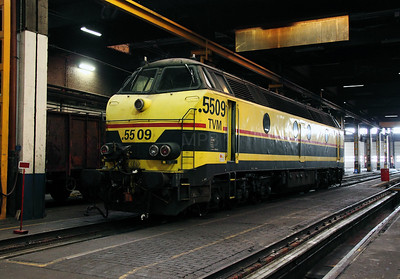 5509 at Schaarbeek Depot on 12th November 2011