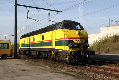 3) 5511 at Schaarbeek Depot on 12th November 2011