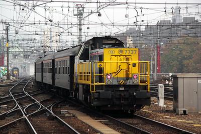 3) 7737 at Brussel Midi on 13th November 2011