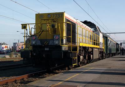 7737 at Edingen on 13th November 2011