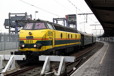 5511 at Oostende on 12th November 2011