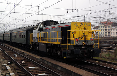 1) 7737 at Brussel Midi on 13th November 2011