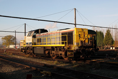 7743 at Schaarbeek Depot on 12th November 2011
