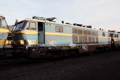 1603 at Oostende Depot on 12th November 2011
