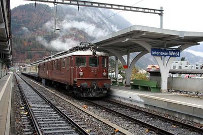BLS, 273 at Interlaken West on 5th November 2005