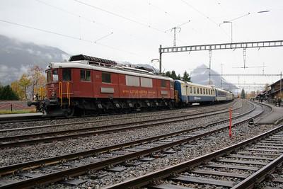 BLS, 205 at Liessigen on 5th November 2005