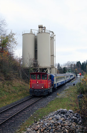 2) BLS, Tm 97 at Keistag Quarry on 5th November 2005