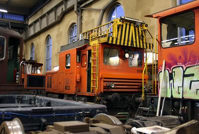BLS, 225 058 at Spiez Depot on 5th November 2005