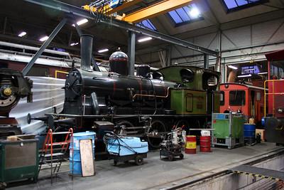 steam, 3 at Spiez Depot on 5th November 2005