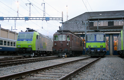 Spiez Depot on 5th November 2005