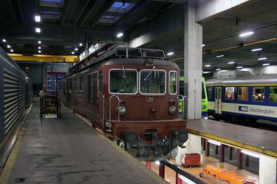 BLS, 191 at Spiez Depot on 5th November 2005