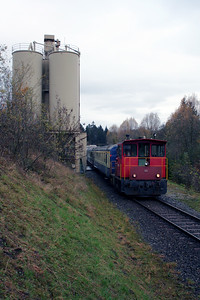 1) BLS, Tm 97 at Keistag Quarry on 5th November 2005
