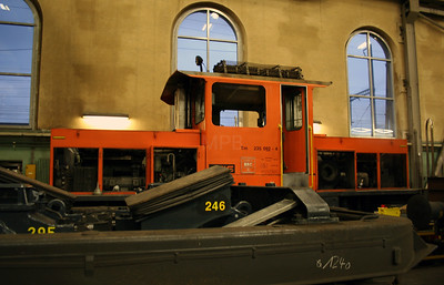 BLS, 235 092 at Spiez Depot on 5th November 2005