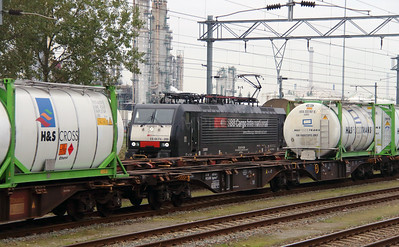 SBBC, 189 996 (91 80 6189 996-2 D-DISPO or ES 64 F4 096) at Botlek Yard on 24th October 2015 (4)