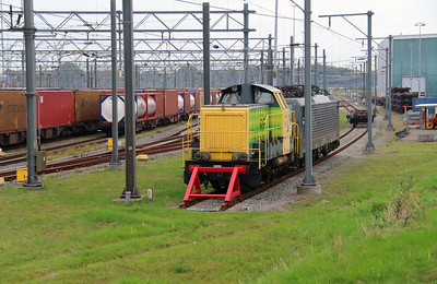 RRF, 101 at Waalhaven Yard on 24th October 2015