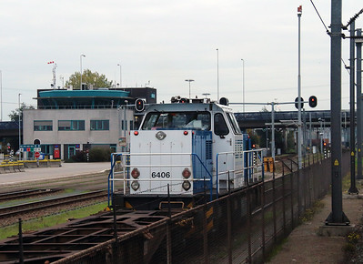 2) LTE, 6406 at RSC Rotterdam container terminal on 24th October 2015