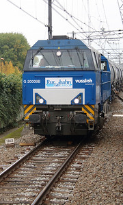 RurtalBahn, V203 (92 80 1272 408-6 D-RTBC) at near Zwijndrecht on 24th October 2015 (2)
