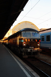 1) Floyd, 659 002 (92 55 0659 002-3 H-FLOYD ex UK 56115) at Budapest Keleti on 5th October 2013