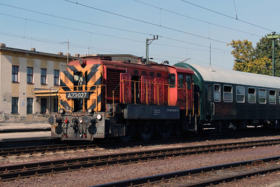 5) A23 027 (98 55 0319 027-6) at Dunaujvaros on 5th October 2013