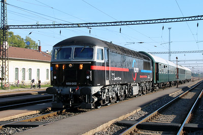 1) Floyd, 659 002 (92 55 0659 002-3 H-FLOYD ex UK 56115) at Pusztaszabolcs on 5th October 2013