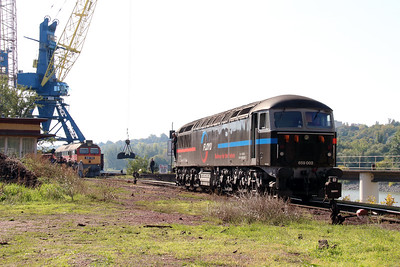 4) Floyd, 659 002 (92 55 0659 002-3 H-FLOYD ex UK 56115) at Dunaujvaros Kikoto on 5th October 2013
