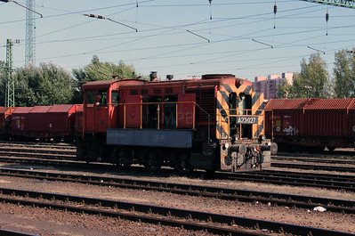 1) A23 027 (98 55 0319 027-6) at Dunaujvaros on 5th October 2013