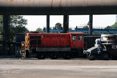 A23 056 (98 55 0319 056-5) at Dunaujvaros Steel Works on 5th October 2013
