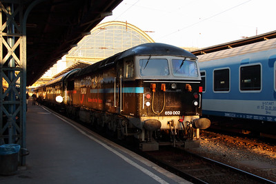3) Floyd, 659 002 (92 55 0659 002-3 H-FLOYD ex UK 56115) at Budapest Keleti on 5th October 2013